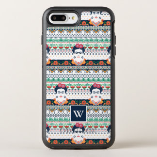 Capa Para iPhone 8 Plus/7 Plus OtterBox Symmetry Asteca de Frida Kahlo |