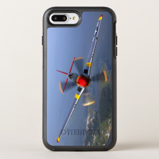 Capa Para iPhone 8 Plus/7 Plus OtterBox Symmetry Aviões de lutador do mustang P-51