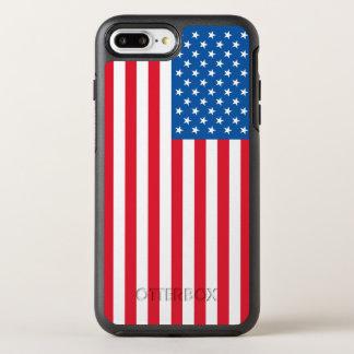 Capa Para iPhone 8 Plus/7 Plus OtterBox Symmetry Bandeira dos Estados Unidos da bandeira dos EUA