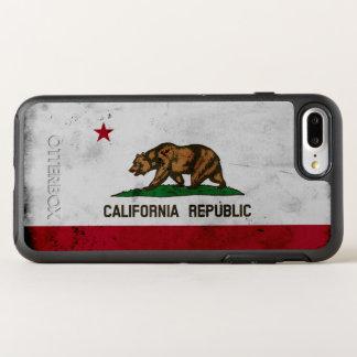 Capa Para iPhone 8 Plus/7 Plus OtterBox Symmetry Bandeira patriótica do estado de Califórnia do