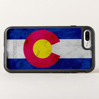 Capa Para iPhone 8 Plus/7 Plus OtterBox Symmetry Bandeira patriótica do estado de Colorado do