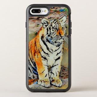 Capa Para iPhone 8 Plus/7 Plus OtterBox Symmetry Bebê bonito do tigre por JamColors