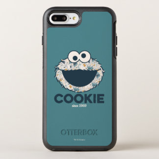 Capa Para iPhone 8 Plus/7 Plus OtterBox Symmetry Biscoito do monstro | do biscoito desde 1969