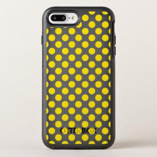 Capa Para iPhone 8 Plus/7 Plus OtterBox Symmetry Bolinhas amarelas