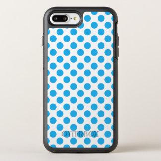 Capa Para iPhone 8 Plus/7 Plus OtterBox Symmetry Bolinhas azuis