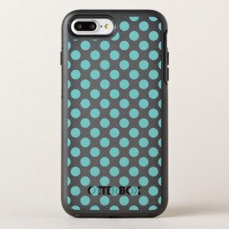 Capa Para iPhone 8 Plus/7 Plus OtterBox Symmetry Bolinhas do Aqua