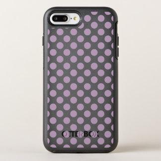 Capa Para iPhone 8 Plus/7 Plus OtterBox Symmetry Bolinhas do Lilac