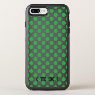 Capa Para iPhone 8 Plus/7 Plus OtterBox Symmetry Bolinhas verdes