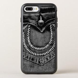 Capa Para iPhone 8 Plus/7 Plus OtterBox Symmetry Bolso de jeans