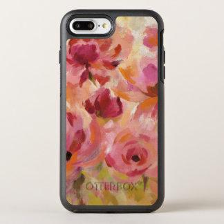 Capa Para iPhone 8 Plus/7 Plus OtterBox Symmetry Buquê dos rosas