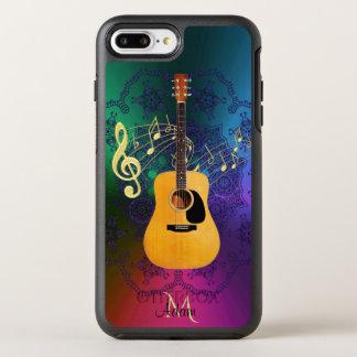 Capa Para iPhone 8 Plus/7 Plus OtterBox Symmetry Caixa colorida de Otterbox da guitarra acústica do