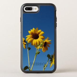 Capa Para iPhone 8 Plus/7 Plus OtterBox Symmetry Caixa da foto do girassol & da abelha