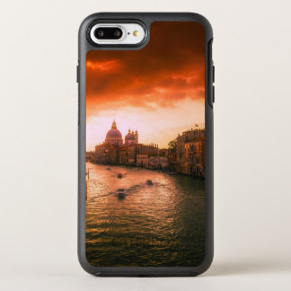 Capa Para iPhone 8 Plus/7 Plus OtterBox Symmetry Canal histórico bonito de Veneza, Italia