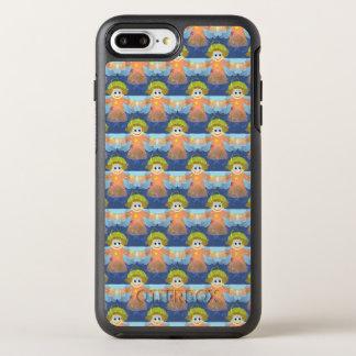 Capa Para iPhone 8 Plus/7 Plus OtterBox Symmetry Capa de telefone adorável dos anjos | do Natal