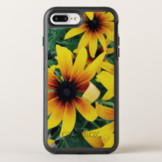 Capa Para iPhone 8 Plus/7 Plus OtterBox Symmetry Capa de telefone amarela da flor do verão