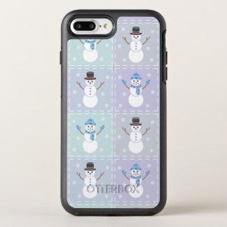 Capa Para iPhone 8 Plus/7 Plus OtterBox Symmetry Capa de telefone de Otterbox da edredão do inverno