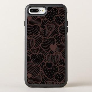 Capa Para iPhone 8 Plus/7 Plus OtterBox Symmetry Capa de telefone do dia dos namorados | dos