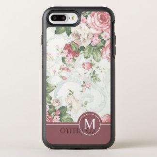 Capa Para iPhone 8 Plus/7 Plus OtterBox Symmetry Capa de telefone elegante do monograma | do design
