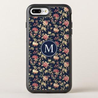 Capa Para iPhone 8 Plus/7 Plus OtterBox Symmetry Capa de telefone floral bonita do monograma | do