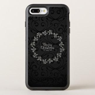 Capa Para iPhone 8 Plus/7 Plus OtterBox Symmetry Capa de telefone floral da grinalda | do Natal