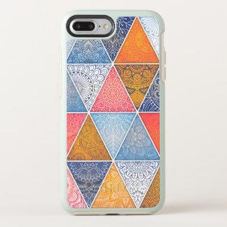 Capa Para iPhone 8 Plus/7 Plus OtterBox Symmetry Capa de telefone geométrica abstrata elegante das