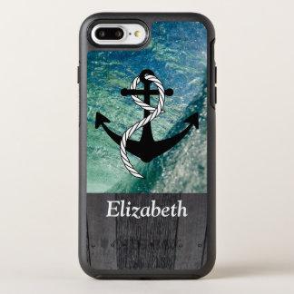 Capa Para iPhone 8 Plus/7 Plus OtterBox Symmetry Capa de telefone náutica rústica do verão do