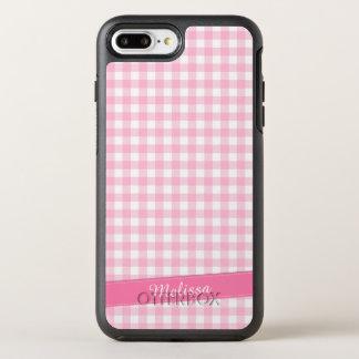 Capa Para iPhone 8 Plus/7 Plus OtterBox Symmetry Capa de telefone personalizada Checkered