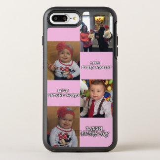 Capa Para iPhone 8 Plus/7 Plus OtterBox Symmetry Capa de telefone personalizada da foto
