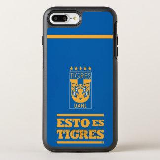 Capa Para iPhone 8 Plus/7 Plus OtterBox Symmetry Capas de iphone da equipe de Tigres UANL