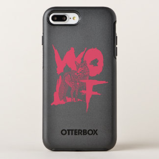 Capa Para iPhone 8 Plus/7 Plus OtterBox Symmetry Capas de iphone de OtterBox do lobo