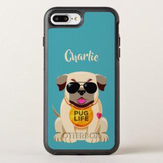 Capa Para iPhone 8 Plus/7 Plus OtterBox Symmetry Capas de telefone feitas sob encomenda do nome &