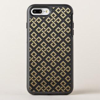 Capa Para iPhone 8 Plus/7 Plus OtterBox Symmetry Capas de telefone metálicas douradas do teste