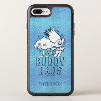 Capa Para iPhone 8 Plus/7 Plus OtterBox Symmetry Cara da nuvem dos troll | & ramo - amigo Bros