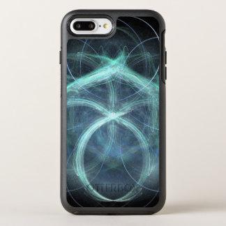 Capa Para iPhone 8 Plus/7 Plus OtterBox Symmetry Carga elétrica azul de roda