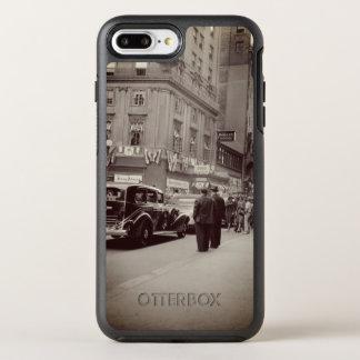 Capa Para iPhone 8 Plus/7 Plus OtterBox Symmetry Carro da fotografia dos anos 30 do hotel da casa