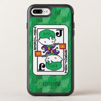 Capa Para iPhone 8 Plus/7 Plus OtterBox Symmetry Cartão de jogo do palhaço de Chibi