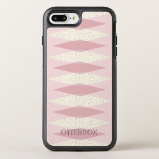 Capa Para iPhone 8 Plus/7 Plus OtterBox Symmetry Caso cor-de-rosa moderno de Argyle Otterbox do