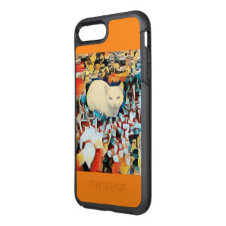 Capa Para iPhone 8 Plus/7 Plus OtterBox Symmetry Cat willy