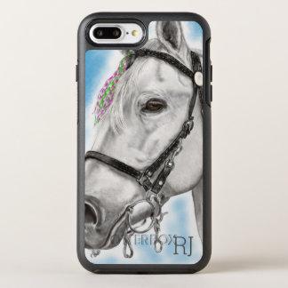 Capa Para iPhone 8 Plus/7 Plus OtterBox Symmetry Cavalo branco