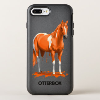 Capa Para iPhone 8 Plus/7 Plus OtterBox Symmetry Cavalo molhado da pintura do gotejamento