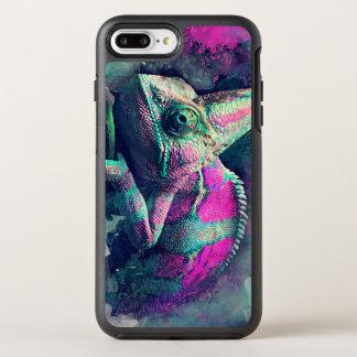 Capa Para iPhone 8 Plus/7 Plus OtterBox Symmetry #chameleon do camaleão