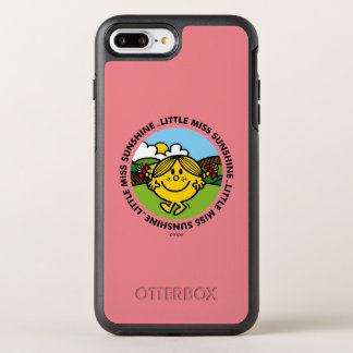 Capa Para iPhone 8 Plus/7 Plus OtterBox Symmetry Círculo pequeno da luz do sol da senhorita Luz do