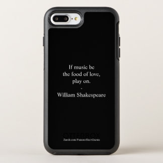 Capa Para iPhone 8 Plus/7 Plus OtterBox Symmetry Citações de William Shakespeare - amor