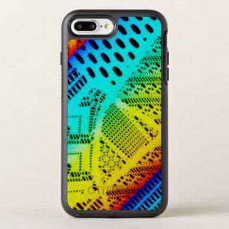 Capa Para iPhone 8 Plus/7 Plus OtterBox Symmetry Colorido brilhante do laço de néon do arco-íris
