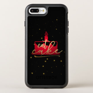 """Capa Para iPhone 8 Plus/7 Plus OtterBox Symmetry """"Coma vermelho do bolo"""" e capas de iphone"""