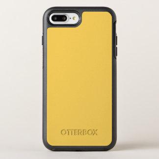 Capa Para iPhone 8 Plus/7 Plus OtterBox Symmetry Cor calma do amarelo da mostarda Y07