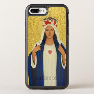 Capa Para iPhone 8 Plus/7 Plus OtterBox Symmetry Coração imaculado de Mary
