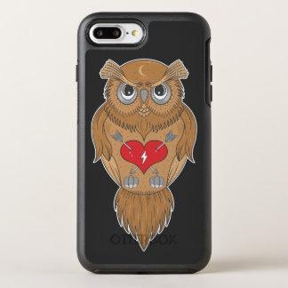 Capa Para iPhone 8 Plus/7 Plus OtterBox Symmetry Coruja artística