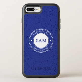 Capa Para iPhone 8 Plus/7 Plus OtterBox Symmetry Crachá da MU | do alfa do Sigma