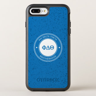 Capa Para iPhone 8 Plus/7 Plus OtterBox Symmetry Crachá da teta | do delta da phi